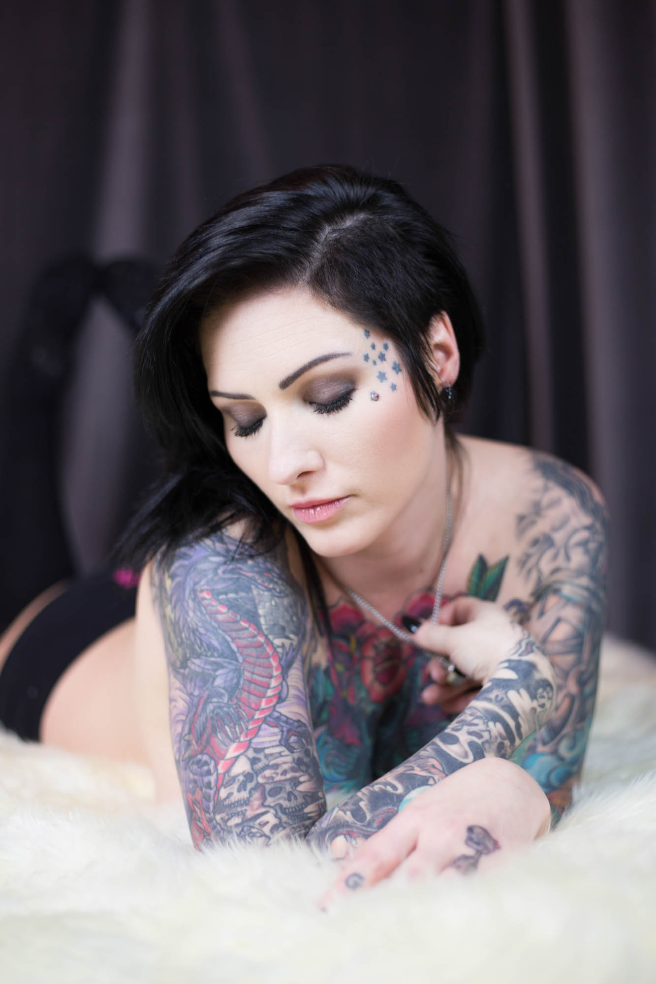 Tattooed Pornstar Catherine Tayler profile