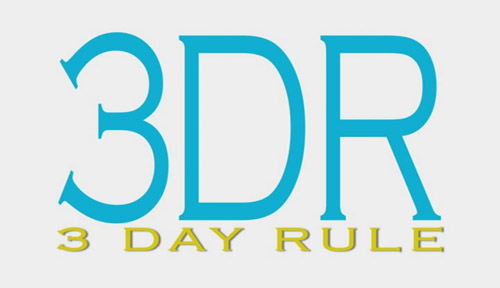 Title Screen - 3 Day Rule