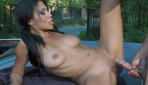 Cassandra Cruz in Anal Car Wash Angels