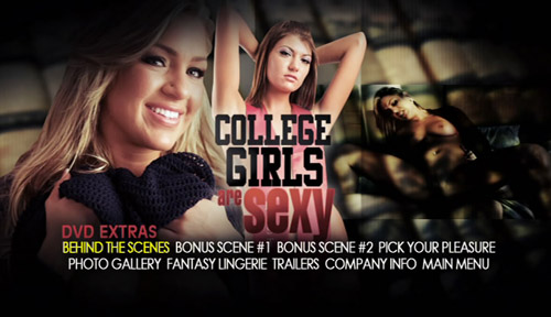 Extras Menu - College Girls Are Sexy