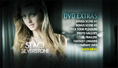 DVD Extras - Sexual Desires of Staci Silverstone