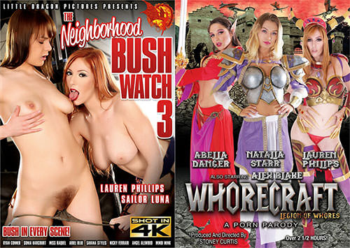 Sexy Ginger Lauren Phillips Featured on New Release Covers, Hustler Interview
