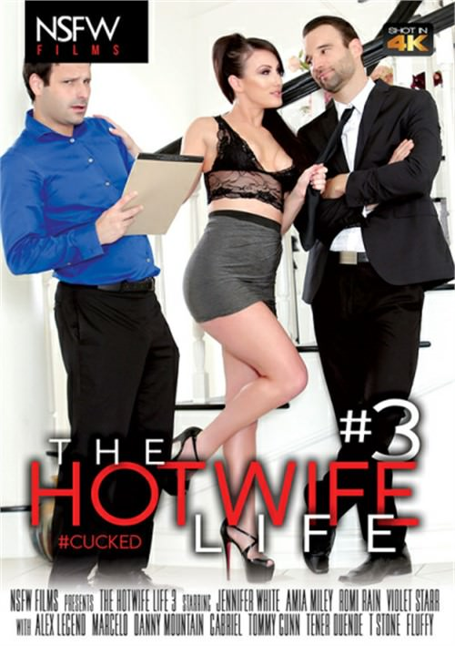 Jennifer White on the Cover of 'The Hotwife Life 3'