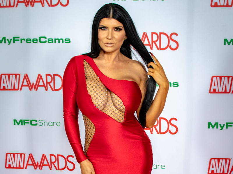 Romi Rain Tattooed AVN Award